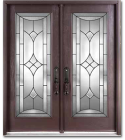 Wood grain fiberglass doors markham front entry doors for Fiberglass entrance doors